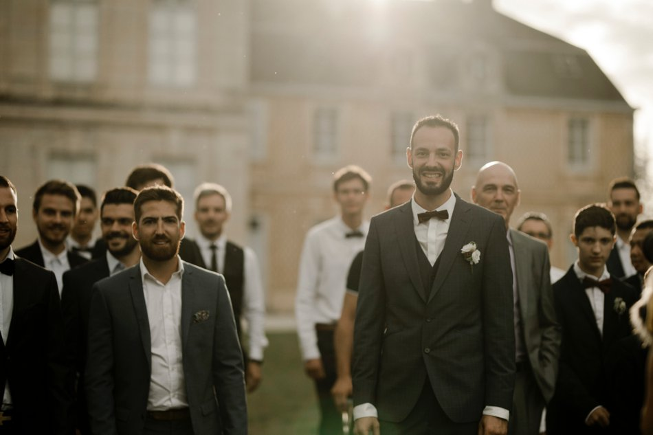 groom's team