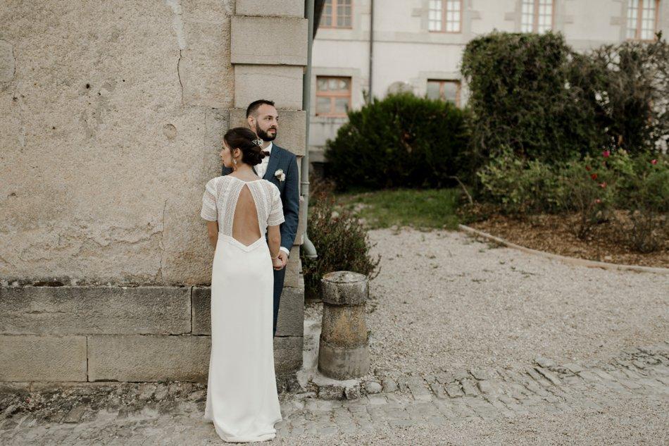 photos de couple mariage vegetal