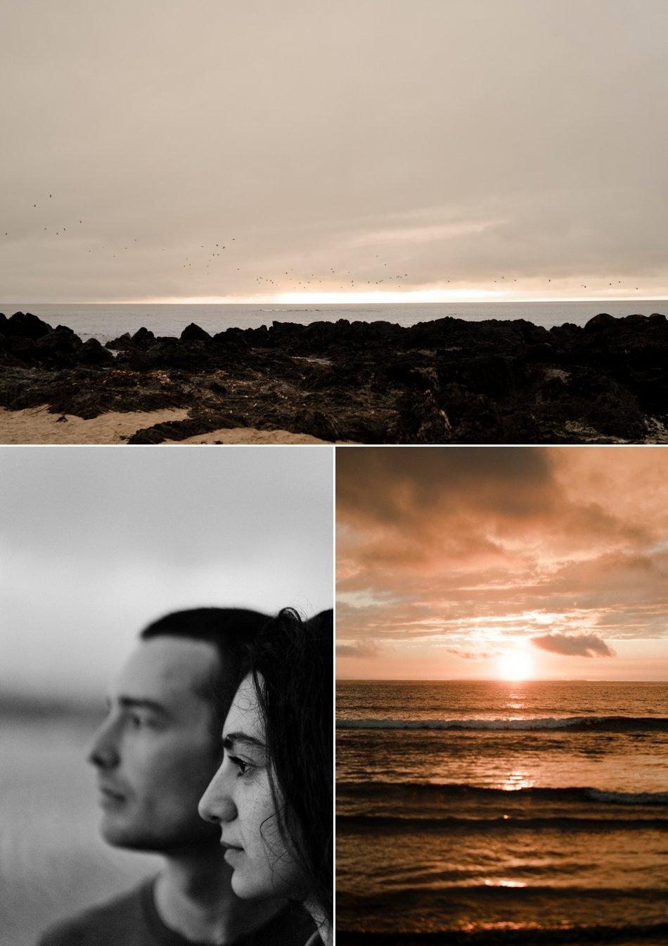 photos de couple dans la manche