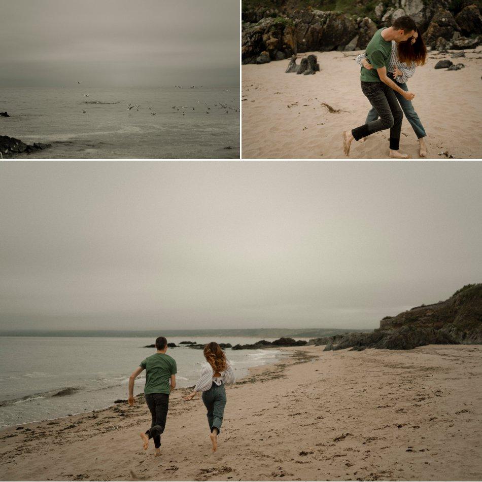 shooting photo a la plage