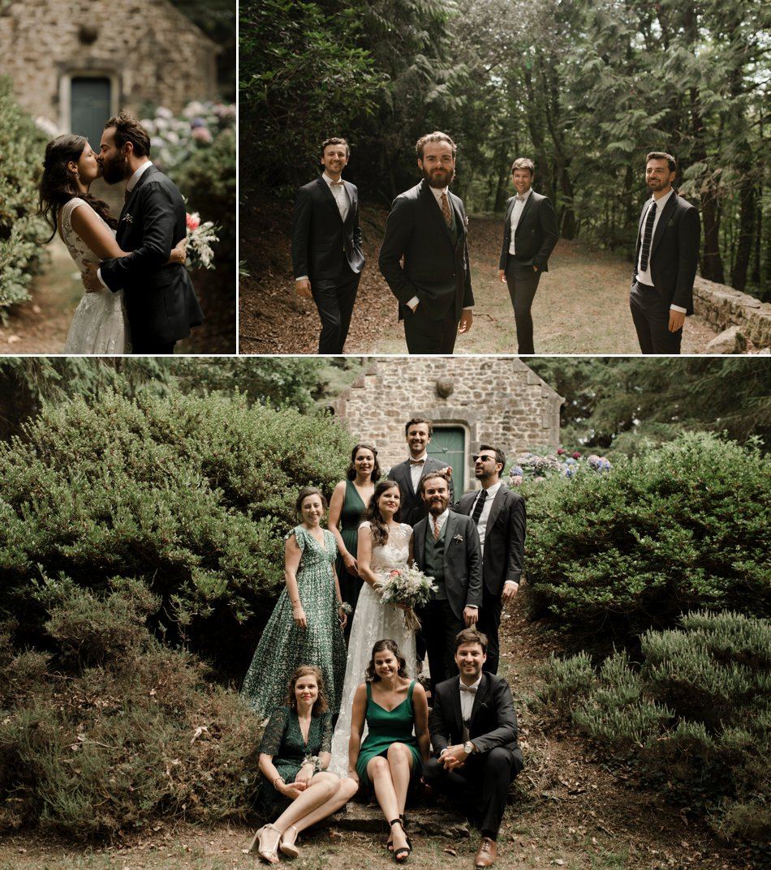 photos de groupe mariage bretagne