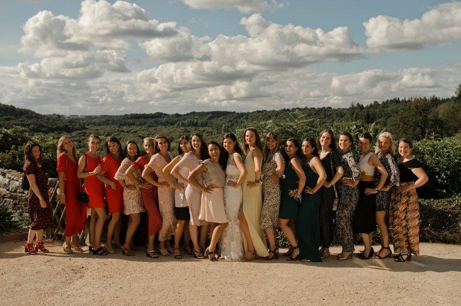 photo de groupe aux terrasses de bothane