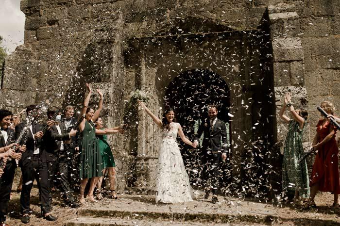 mariage folk au terrasses de Bothané