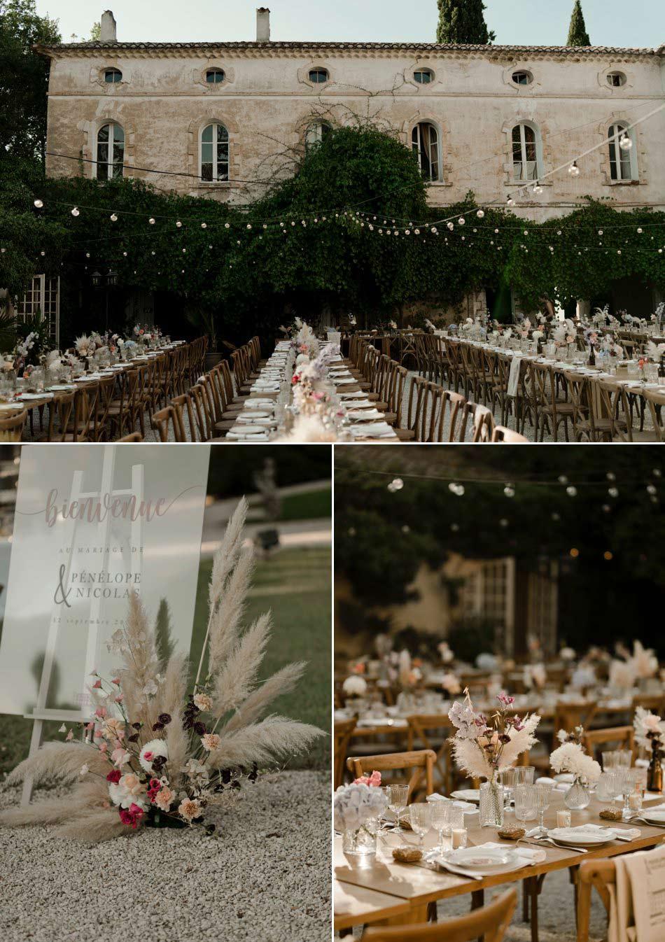 decoration mariage en provence