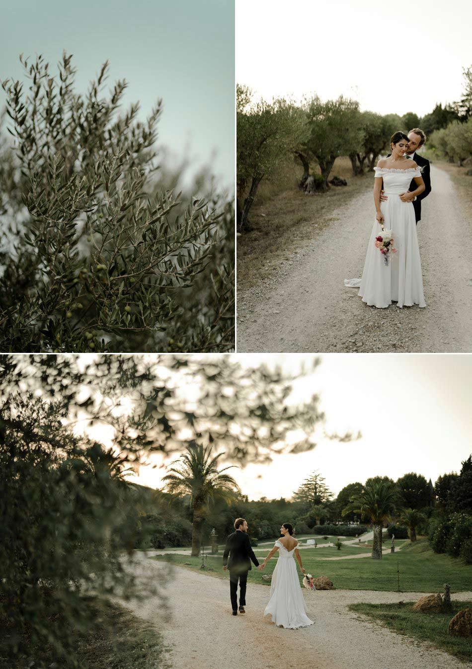 photos de couple mariage dans le sud