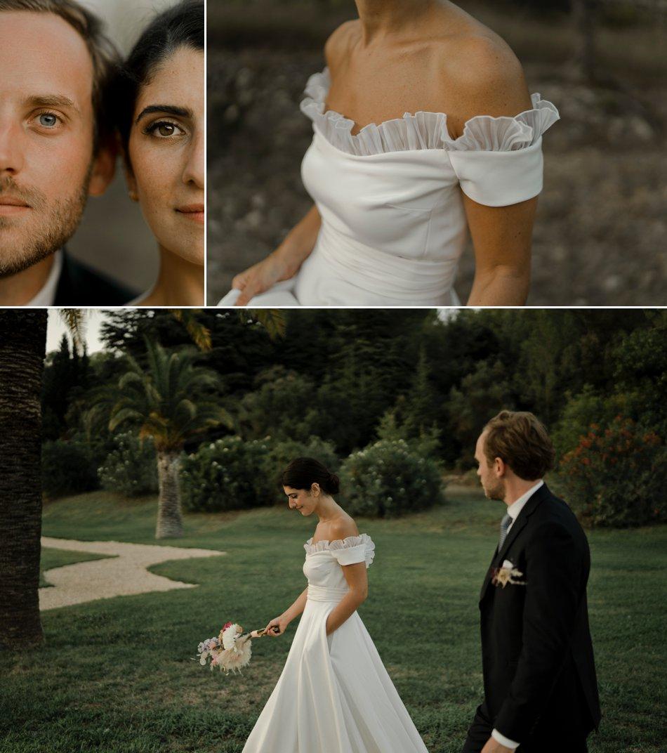 photos de couple mariage provence
