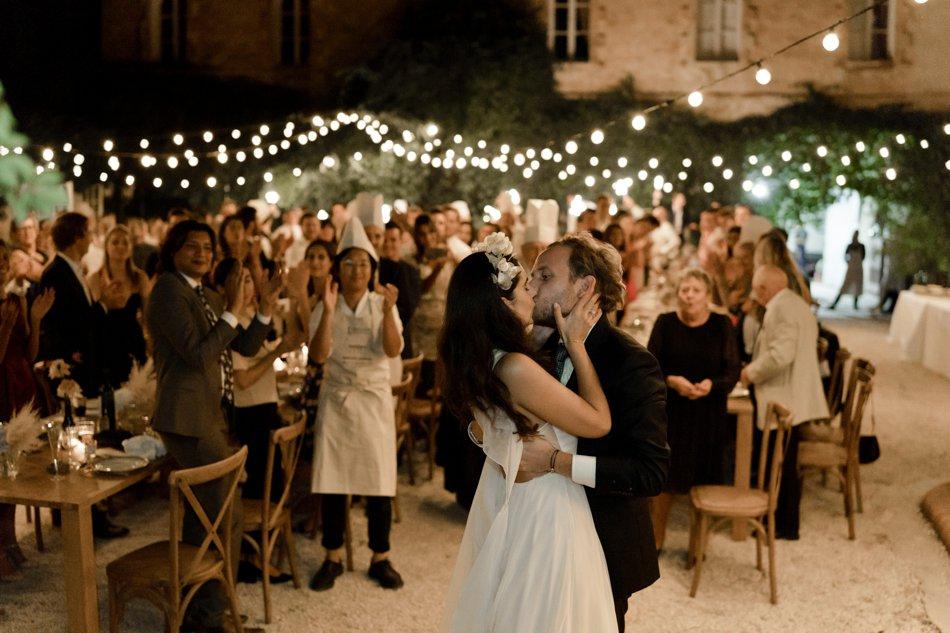 soiree de mariage en exterieur